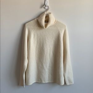 Jeanne Pierre Lambswool and Angora Sweater